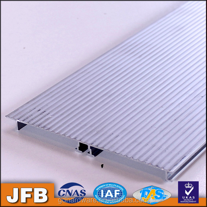 Aluminium finish skirting board for furniture kitchen cabinet Aluminum Kitchen Cupboard Skirting Baseboard