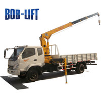 Telescopic 5 ton Boom Hydraulic Crane for Trucks