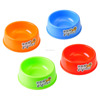 Stylish Cute portable Pet Dog Cat Plastic Food Bowl water cups
