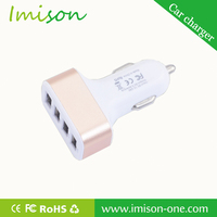 Newest 4 Port Usb Car Charger,Mobile Phone Battery Charger,Cell Phone Charger Parts