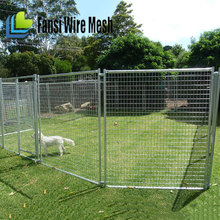 Outdoor Large Portable Galvanised Dog Cage
