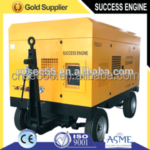 Portable Diesel Power Source Rotary Screw Engine and New Condition air compressor for sale