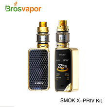 Innovation 2018 Smoktech X-PRIV 225 Watt SMOK x priv Kit mit 8 ml/2 ml dual 18650 batterie