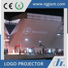 Remote control outdoor rainproof led projector light/gobo logo projector