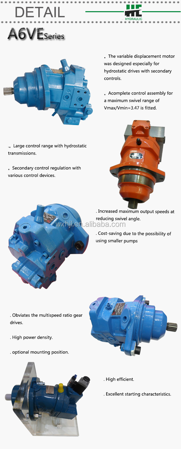 A6ve107 rexroth hydraulic axial motors for sale buy for Hydraulic motors for sale