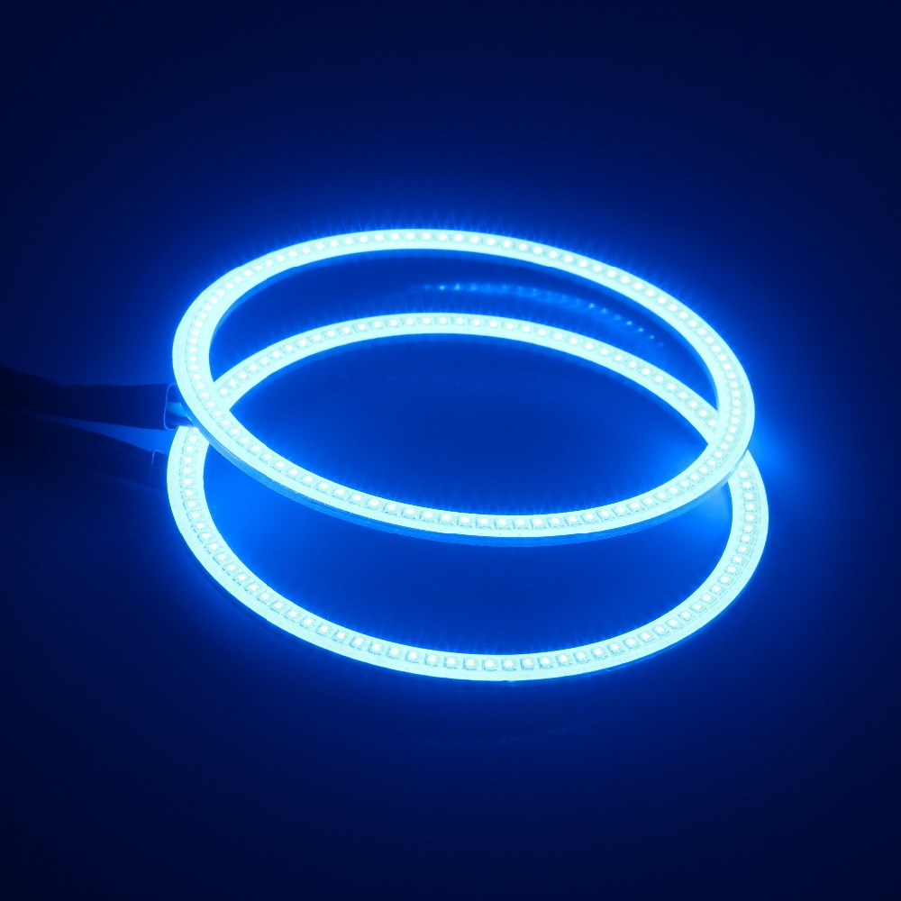 Halo rings 60mm,75mm,80mm,85mm,100mm,140mm RGB color changing angel eyes