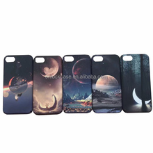Hot selling fashion starry sky hard PC matte diy mobile case cover for Iphone 6