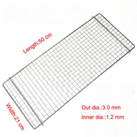 Squares Holes Stainless steel Metal bbq grill wire mesh