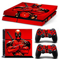 High Quality Vinyl Skin Stickers For PS4 Console and Controllers Decals