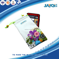 colorful microfiber pouch for cell phone