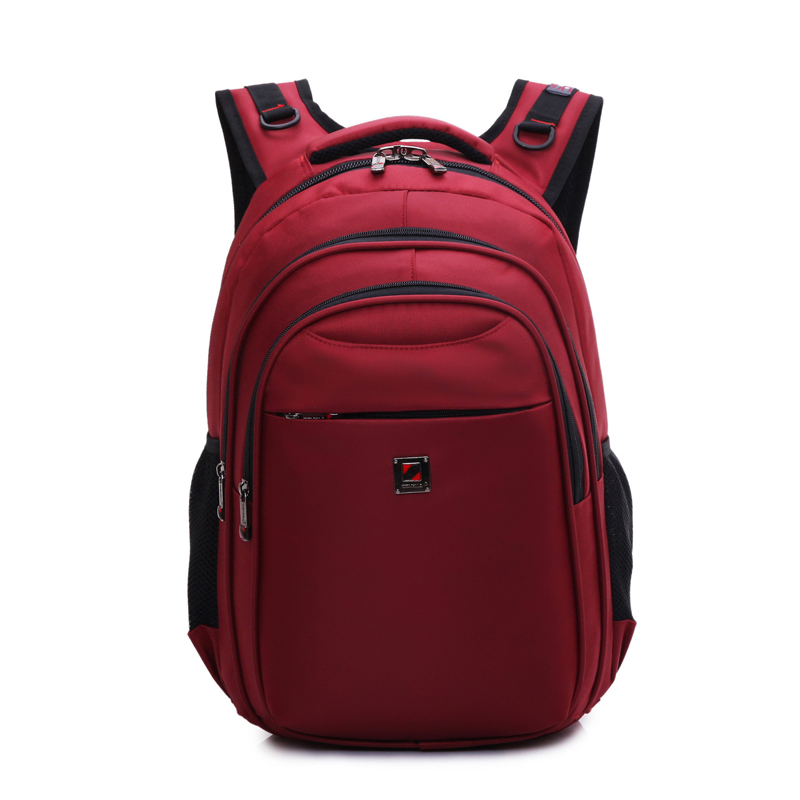 Waterproof Stylish Anti-Theft Multipurpose Rucksack School Business Bags fits up to 15.6 Inch laptop Notebook Red