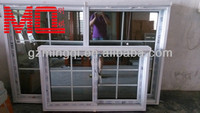 tempered glass pvc window grills design pictures
