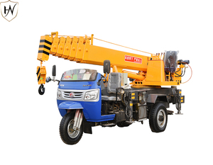 Small Mobile Lifting Capacity Hydraulic Boom 3 ton Truck Crane for Sale