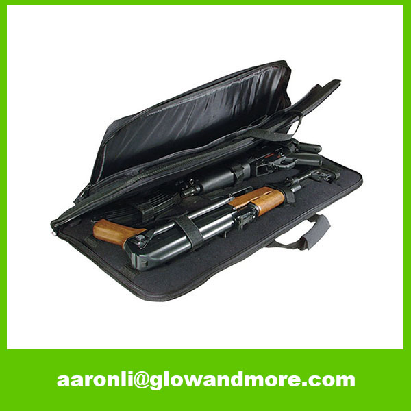 OEM High Quality Portable Foldable Travel Aluminum Gun Case
