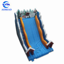 New style big size giant christmas inflatable water slide for adult for sale
