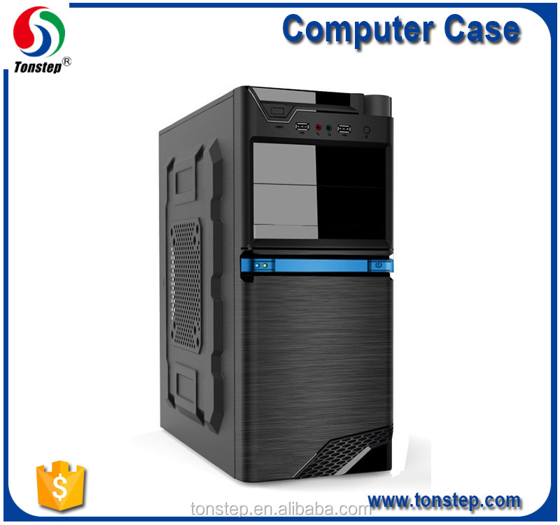 Cool high quality protective desktop ATX SPCC pc case oem computer case for sale