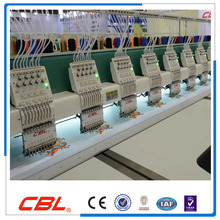 CBL 9 needles 24 heads flat computer embroidery machine price