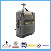 15 inch Trolley Laptop Bag Women Travel Luggage Carry-On Backpack
