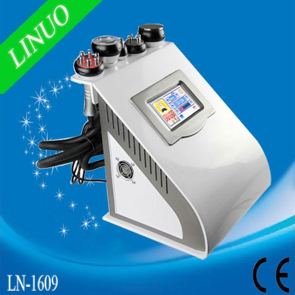 5 IN 1 Potable Vacuum Cavitation RF LED Fat Reduction Beauty Equipment