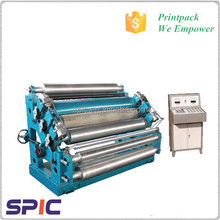 Corrugated paperboard single facer machine in China