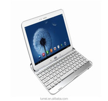 Aluminum Bluetooth Keyboard Case For Samsung Galaxy Tab 3 P5200 10.1''