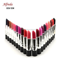 Make Your Own Logo Plastic Shell Long Lasting High pigment Multi-Colors Matte Lipstick