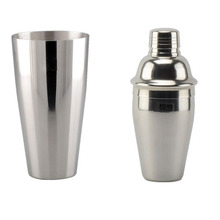 Low MOQ, FAST DELIVERY stainless steel boston cup, bar & cocktail shaker