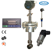DH800 series vortex flow meter for water saturated steam temperature