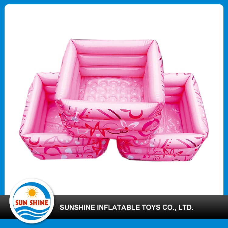 children squared inflatable footbath
