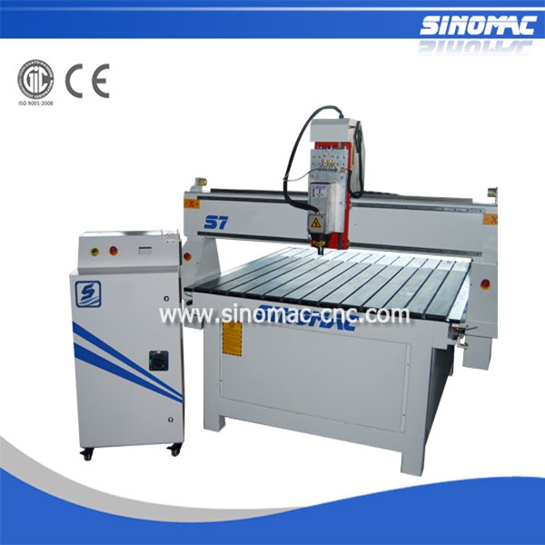 Sinomac mini cnc router S7-1313 wool processing machinery