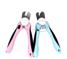 2016 New design professional pet products grooming dog nail clippers