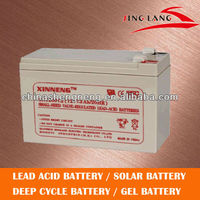 good performance lead acid 12 volt 7ah security battery