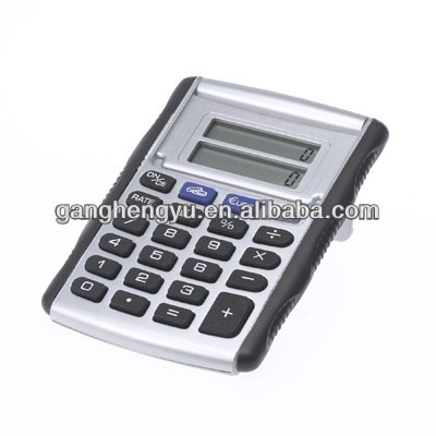 Flip open cover conversion Europ currency calculator,electronic calculator