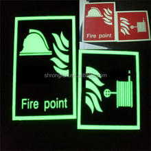 Glow in the dark items, emergency exit sign ,lighted exit signs