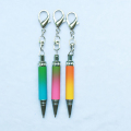 Full Color Pen,Mini Keychain Crystal Pen with Custom Logo