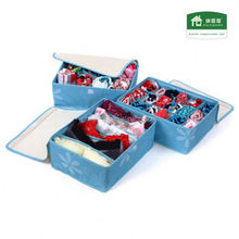 2014 Foldable Storage Bag Clothes Organizer Box sharp container
