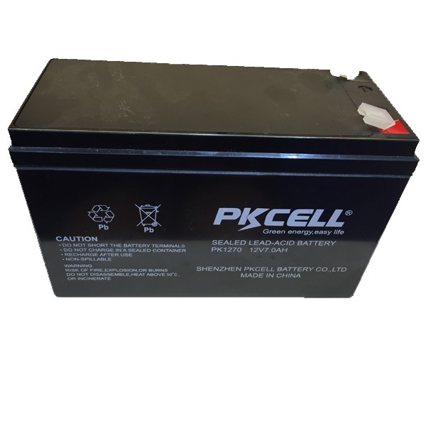 Maintenance Free Battery Sealed Lead Acid Battery 12V 7AH Solar Cell