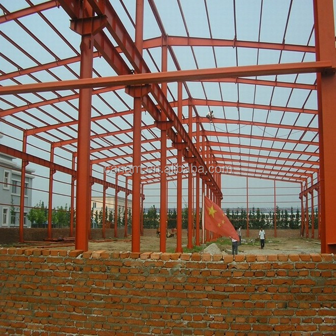Steel structure warehouse and steel structure workshop