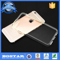 Gel transparent design mobile phone back cover Clear Mobile Phone Tpu Cases For Iphone 6S plus