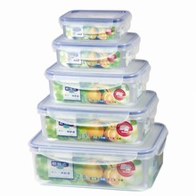 BPA free plastic crisper box 10pcs plastic fresh food storage container
