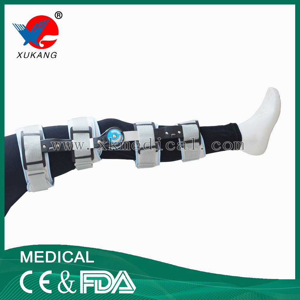 Medical knee support/knee support hinged for hot sale