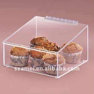 small acrylic bread box
