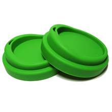 100% food grade silicone cup lid Mark cup lid