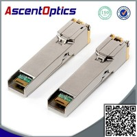 Alcatel-Lucent Gigabit copper SFP, supports Cat 5, 5E, 6 cables, up to 100m