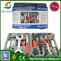 China whole set bike repair tool box/whole functions cycle tool