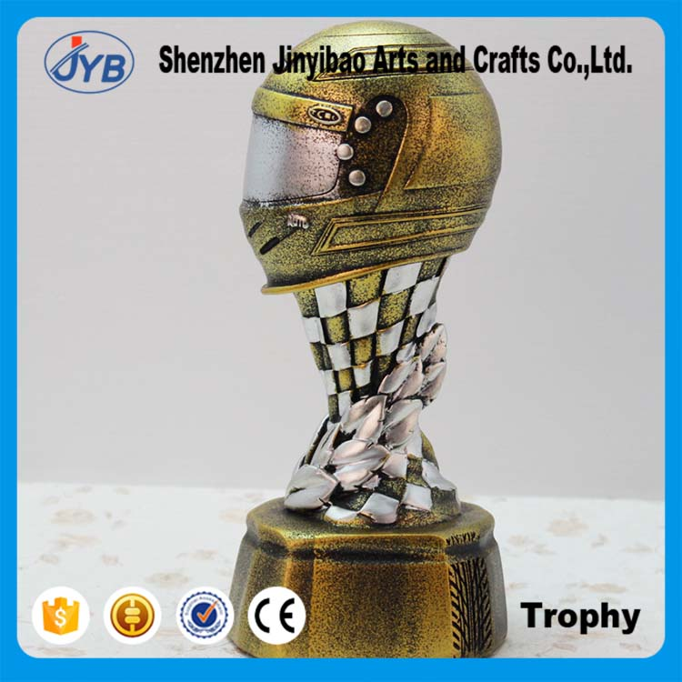 So cool trophy design Retro feature motorcycle champion trophy awards