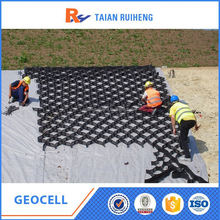 HDPE Geocell Used In Road Construction