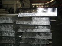 Hot sale Alibaba China Zhengzhou industrial aluminium heat sink extrusion