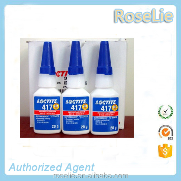 loctite 417 super bonder glue , ethyl cyanoacrylate bonding adhesive henkel loctite 417 20gram bottle