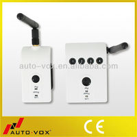 Digital wireless transmitter and receiver for heavy duty vehicles